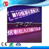 Pubblicità del modulo mobile della visualizzazione di LED del segno P10 della visualizzazione LED del testo di Scrolling di RGB del tabellone del LED del messaggio
