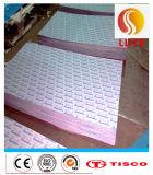Hoja de acero inoxidable galvanizada ASTM 316L de la placa de acero