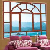 Ventana de aluminio exterior del vidrio de la reflexión de la protección de Feelingtop Sun