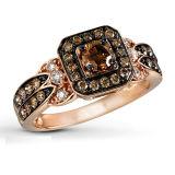 Regolazione degli anelli d'argento dei monili 925 di modo dell'oro di colore micro
