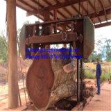 La grande bande en bois du découpage Mj3500 a vu la scie à ruban lourde de machine pour le bois dur