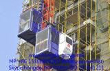 Grua do edifício de Hongda com carga de 1 e 2 toneladas