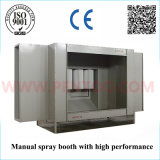 Alto Performance Powder Coating Booth con Recovery System