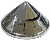 Huevo de encargo del acero inoxidable, temporizador de la cocina de Michanical de la dimensión de una variable de Apple