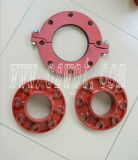 Cast Ductile Iron Grooved Fittings Flange Adaptor Grooved com UL&FM Certificate