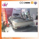 Maquinaria de vidro da estaca do CNC com funções de rotulagem automáticas