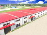 Atelier industriel léger préfabriqué de structure métallique (KXD-68)