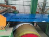 Con recubrimiento de color bobinas de acero como en los techos
