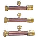 Tubulação soldada cobre