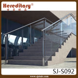 Baluster нержавеющей стали для стеклянной рельсовой системы лестницы (SJ-S092)