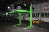 2 types levage sec hydraulique de poste de stationnement de véhicule d'ascenseur automatique