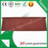 Feuille en pierre de toiture en métal de puce dans des tuiles de toit
