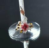 460ml LEED自由な水晶エナメルのダイヤモンドのDeractionガラスのゴブレット