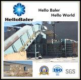 Горизонтальная автоматическая машина Baler неныжной бумаги/здравствулте! Baler