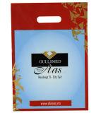 Las cuatro bolsas de plástico impresas color para el regalo promocional (FLD-8587)