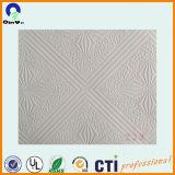 Película grabada Foill blanca del PVC del PVC para el techo falso