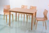 Tabela e cadeira de madeira da mobília do restaurante para jantar (FOH-NCP17)