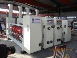 El ranurar multicolor de la impresión rotatorio muere la máquina de la fabricación de cajas del cartón del cortador