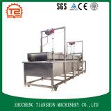 Lavadora vegetal con el generador del ozono en uso comercial del lavado