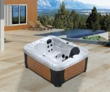 Tina caliente M-3399 del torbellino del BALNEARIO de la tapa del diseño del balboa del masaje al aire libre de lujo del sistema