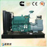 Gruppo elettrogeno diesel silenzioso di serie intera di 150kw Cummins Engine con ATS