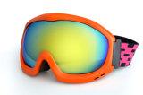 Enduit de lentille de PC emballant des lunettes de ski de neige en verre de l'hiver