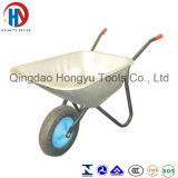 Wheelbarrow de aço Wb6407A do metal do jardim de China Durable&Cheap