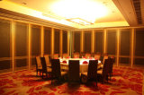 Libraryのための中国Acoustic Interior Decorative Folding Screen Wooden Partition Wall