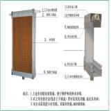En refroidissant le matériel de garniture, mouiller le rideau pour le système de ventilation