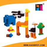 El ABS más nuevo Zoo Design Creative Colorful Building Blocks Children Toy con 80 Pieces En71/ASTM/CE