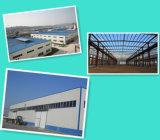 Gemaltes Struktur-Stahlleuchte-vorfabriziertes Werkstatt-Gebäude