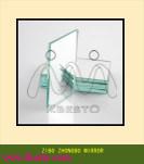 Comités van de Spiegel van het Aluminium van het Glas van de Vlotter van Frameless de Goedkope Zilveren