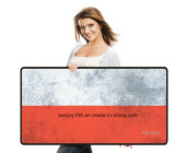 Tapete de rato de borracha da bandeira nacional de alta qualidade Mousedpad Mat