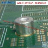 Smtso-M3-8et, SMD Nut, Fixadores de montagem em superfície SMT Standoff, SMT Spacer, Reel Package, Brass, Stock