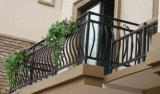 6 pasamanos decorativos de las escaleras del hierro labrado de la vendimia