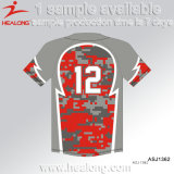 Camo Patten-Sublimation-preiswerte Hemd-BaseballJerseys