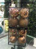 عيد ميلاد المسيح زخرفة كرة في لون متعدّد مع مادة جديدة ([أم] تركيب)