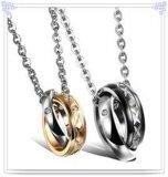 De Halsband van de Manier van de Juwelen van het Roestvrij staal van de Tegenhanger van de manier (NK691)