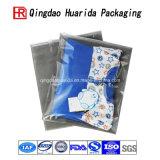Хозяйственные сумки мешка подарка изготовленный на заказ картины логоса пластичные с мешком пластичной одежды ручки упаковывая