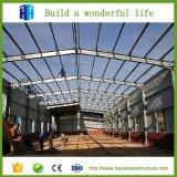 Taller de acero del almacén de la estructura del marco del espacio del palmo grande con el mejor precio