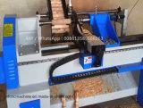 木階段NewelポストのためのCNCの自動木回転製粉の旋盤