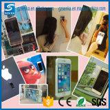 Caisse transparente anti-gravité de caisse de téléphone de Noël pour l'iPhone 5/5s