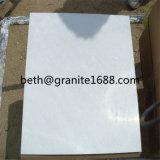 床および壁の建築材料のための雪の白い大理石