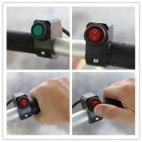 12V 16A는 기관자전차 스위치 CNC 알루미늄 합금 스위치 자전거 핸들 헤드라이트 3 철사 방수 스위치 초록불을 방수 처리한다