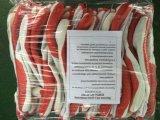 Guanto del lavoro ricoperto gomma rossa (DCL301)