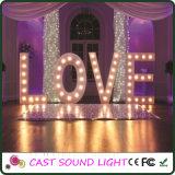 LED-Zeichen-Zeichen-Hochzeits-Dekoration-Lichter