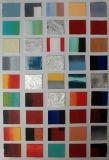 색깔 패치의 장식적인 색칠