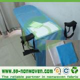 Tela no tejida hoja de cama médica