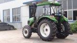 retroexcavadora del cargador del alimentador de granja de los alimentadores de 4WD 100HP