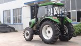 Tracteur à 4 roues motrices 100HP Tracteur agricole Tractopelle